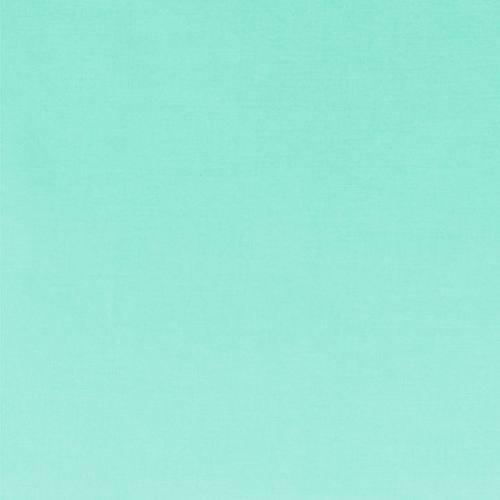 Voile de coton vert d'eau