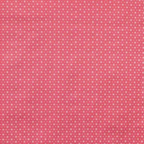 Coton fuji rose