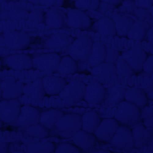 Galon pompon 15 mm bleu