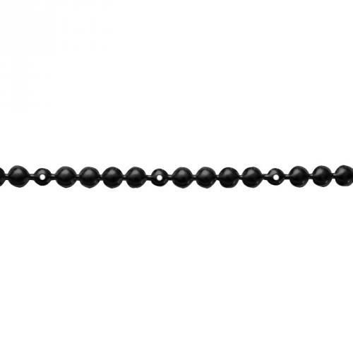 Bande de clous factices tapissier noir 9,5 mm