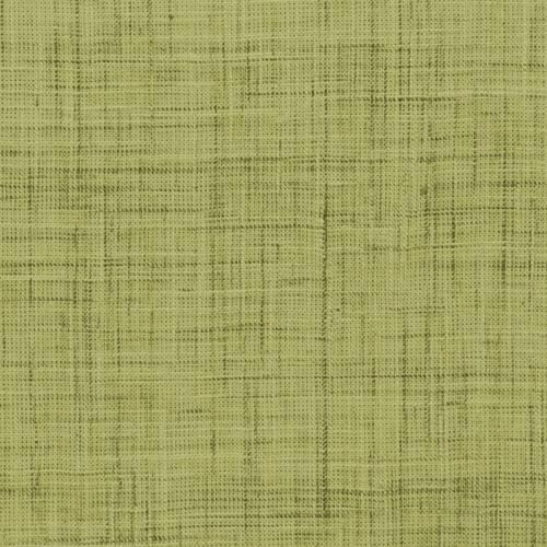 Coton aspect lin vert tilleul