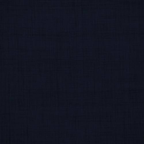 Coton aspect lin bleu marine