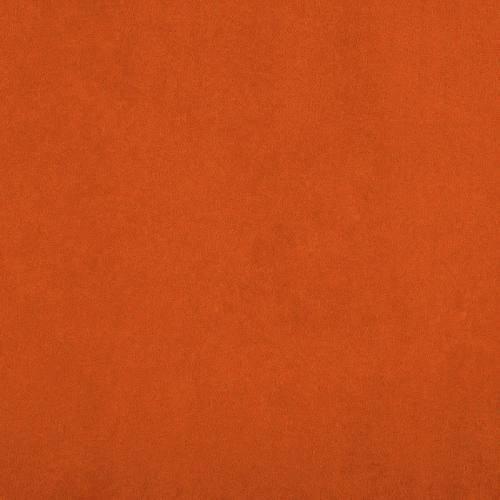 Suédine mandarine anti-taches