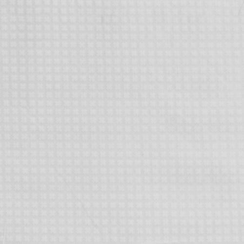 Coton blanc imprimé petites croix
