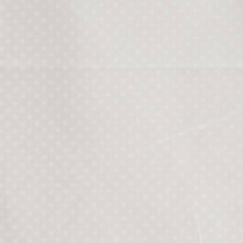 Coton blanc cassé imprimé petits pois 2 mm