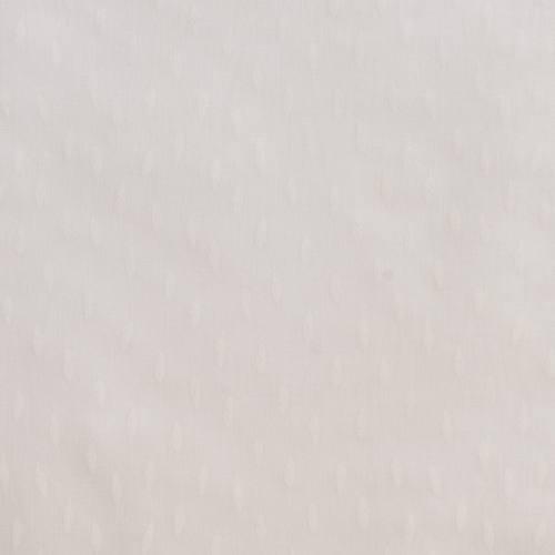 Coton blanc cassé imprimé petites plumes