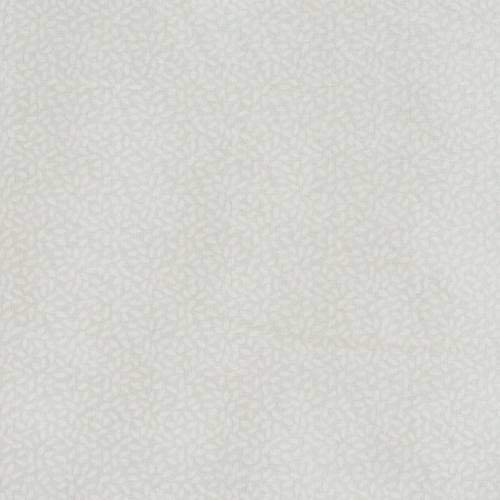 Coton blanc cassé imprimé pétales
