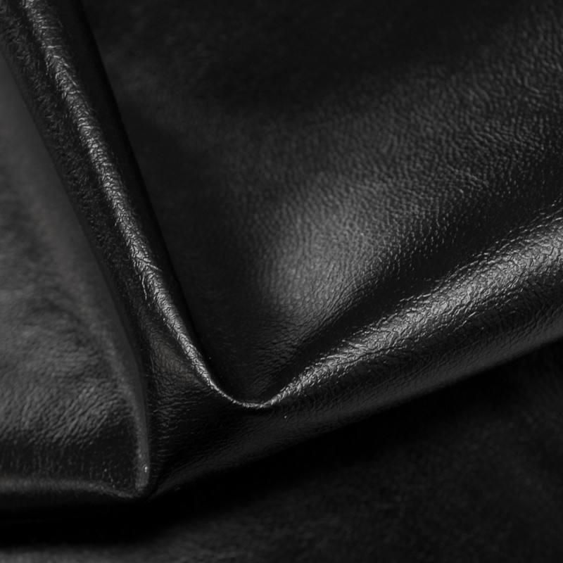 Simili cuir uni noir