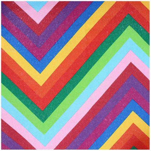 Simili cuir multicolore brillant