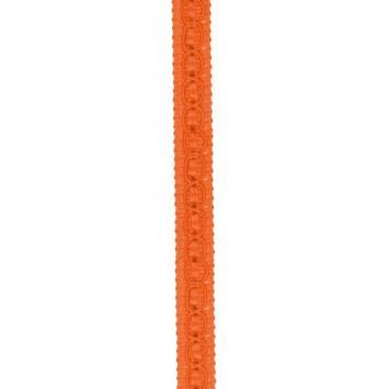 Galon fantaisie 10 mm orange