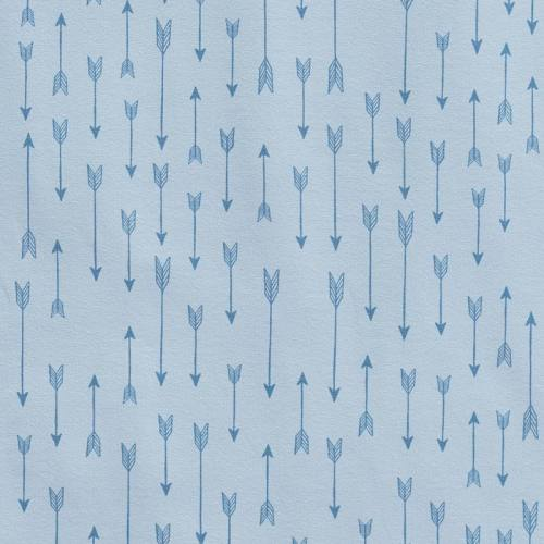 Jersey bleu clair imprimé flèches