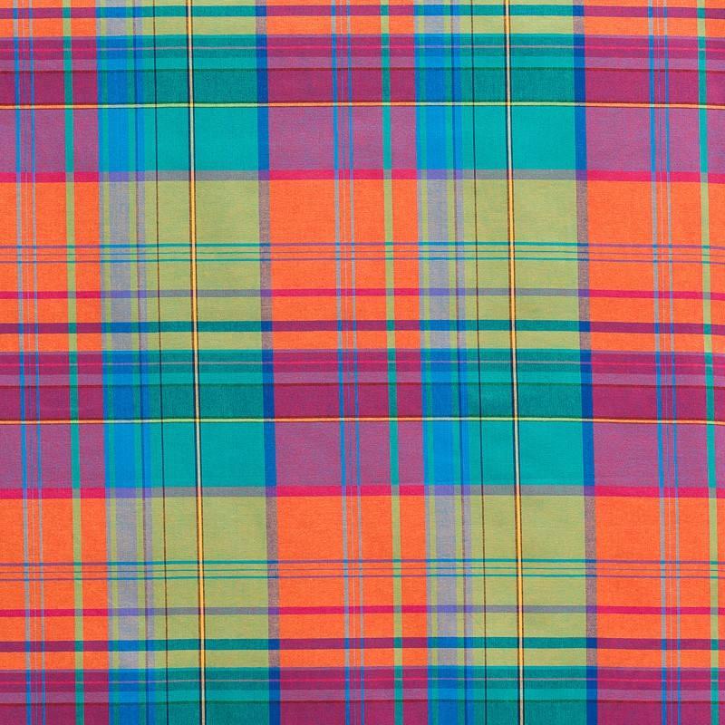Coton madras multicolore