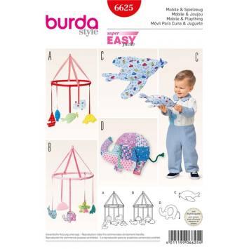 Patron Burda 6625 : Mobile & Joujou