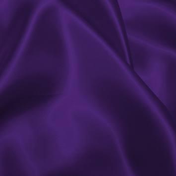 Satin uni violet 150 cm