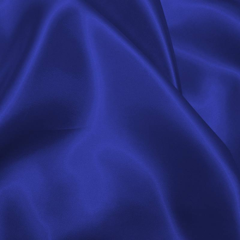 satin uni bleu roi 150 cm pas cher tissus price. Black Bedroom Furniture Sets. Home Design Ideas