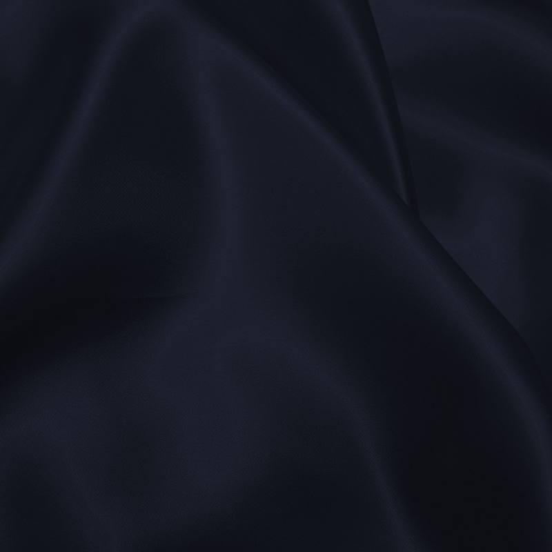 Satin uni bleu nuit 150 cm