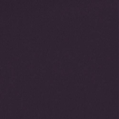 Toile coton demi-natté aubergine