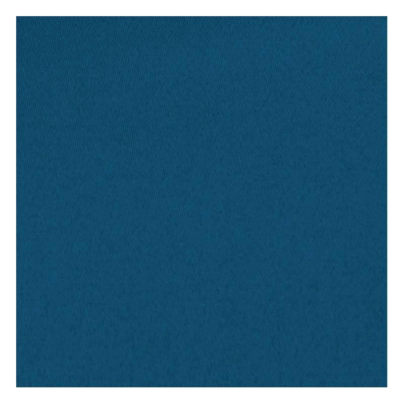 toile coton demi natt bleue p trole pas cher tissus price. Black Bedroom Furniture Sets. Home Design Ideas