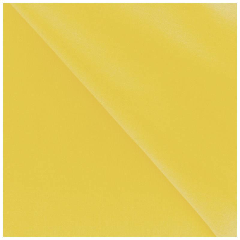 Polycoton uni jaune