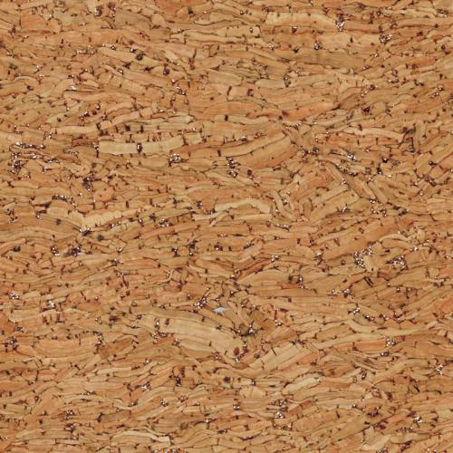 Tissu de liège paillette