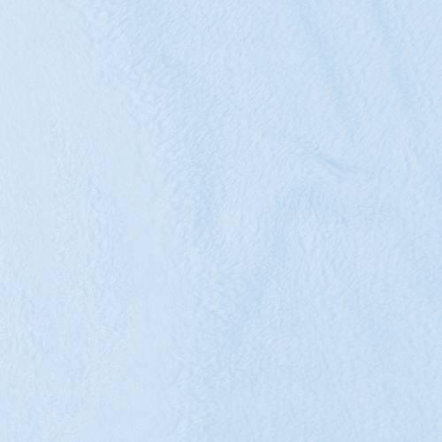 Tissu polaire microfibre bleu pastel 140 cm