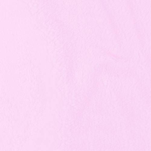 Tissu polaire microfibre rose pastel 140 cm