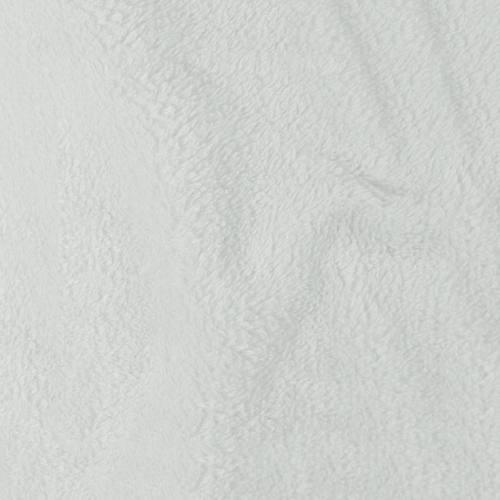 Tissu polaire microfibre gris perle 140 cm