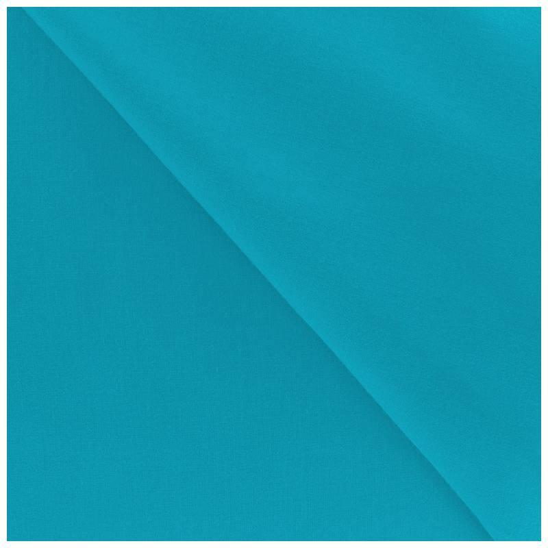 Polycoton uni turquoise