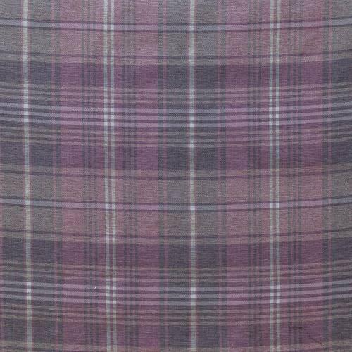 Rouleau 30m Toile d'ameublement vieux rose motif écossais