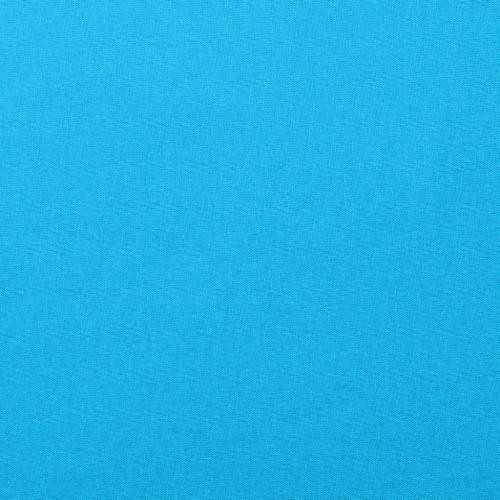 Coton uni bleu turquoise