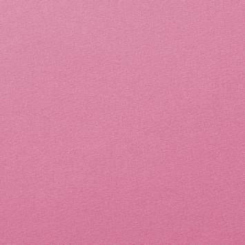 Coton uni rose bonbon
