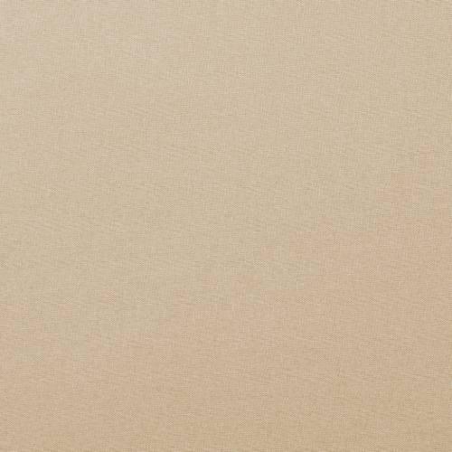 Coton uni beige clair