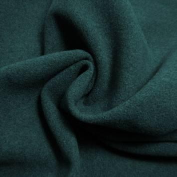 Tissu caban uni vert