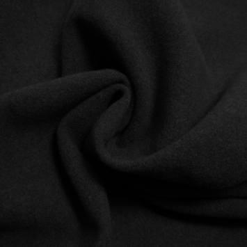 Tissu caban noir