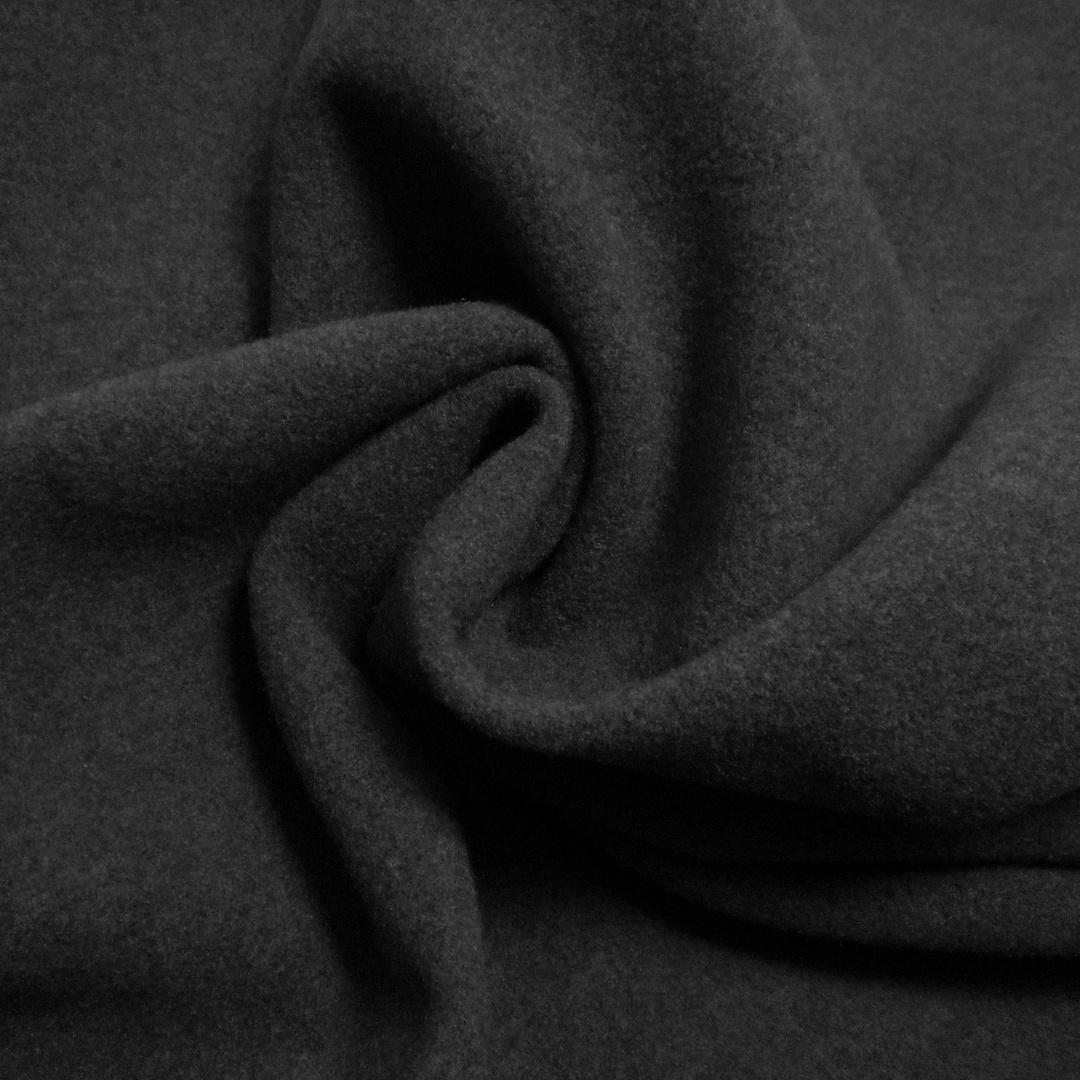 Tissu caban uni gris