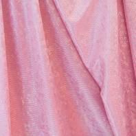 Maille extensible rose écailles brillantes