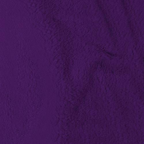 Tissu polaire microfibre violet 140 cm