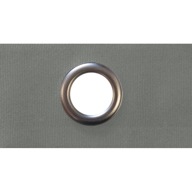 bande oeillets 4 cm pour rideaux taupe pas cher tissus price. Black Bedroom Furniture Sets. Home Design Ideas