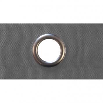 Bande à oeillets 4 cm pour rideaux grise