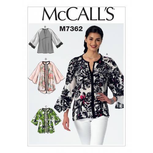 Patron Mc Call's M7362 : Haut Taille : 44-52