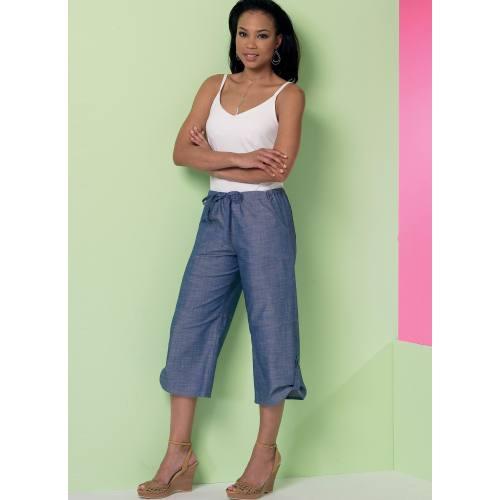 Patron Mc Call's M7364: Pantalon:taille 34-42