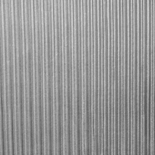 Tissu lurex plissé argent