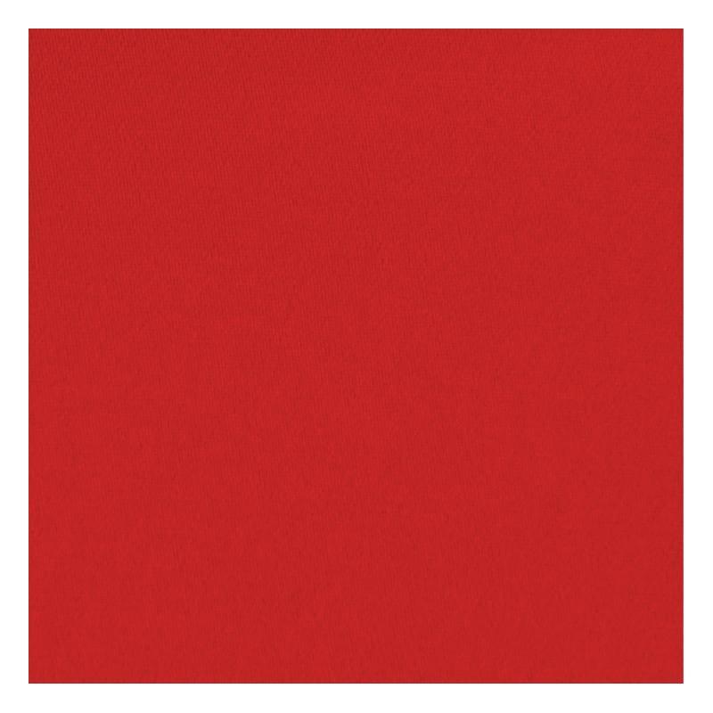 Toile coton demi-natté rouge