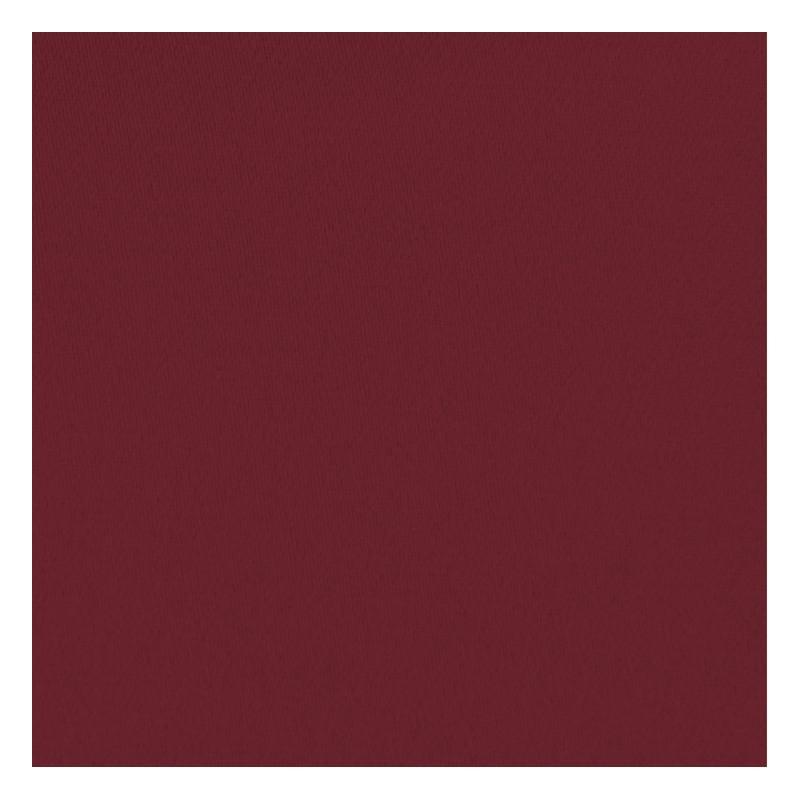 Toile coton demi-natté rouge carmin