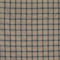 Tissu tartan beige motif écossais