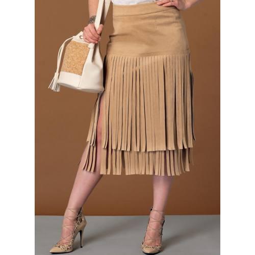 Patron Mc Call's M7438 : jupes pour jeune femme 42-50