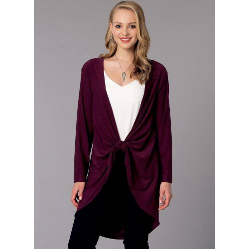 Patron Mc Call's M7441 : vestes et gilet pour jeune femme 44-52
