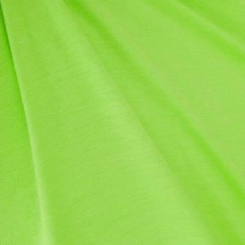 Jersey viscose vert fluo