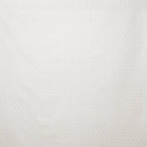 Popeline coton grège motif scandinave