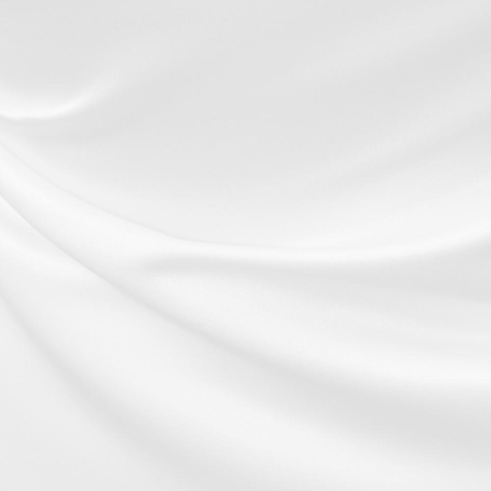 Satin duchesse blanc
